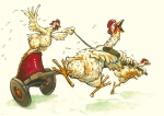 Chickens in a Chariot