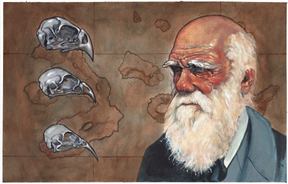 Darwin and his Finches