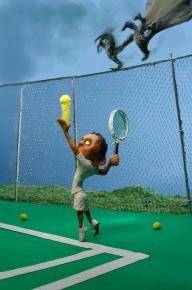 A Pterodactyl got my Tennis Ball
