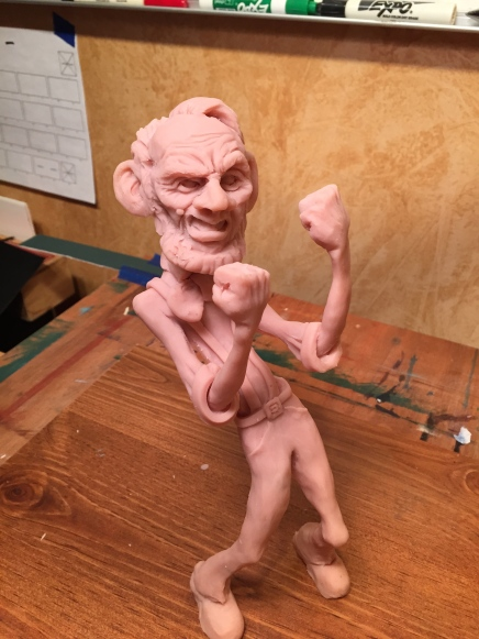 All my figures are Sculpted from polymer clay...